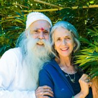 Swami And Nikki Portrait In A Plant By Amy Carr 10 18